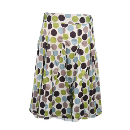 Hobbs skirt with pattern