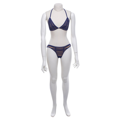 Beach Bunny Swimwear Bikini in Blau Blau