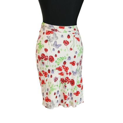 Versace jupe florale