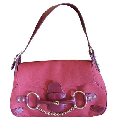 Gucci Shoulder bag with horsebit detail