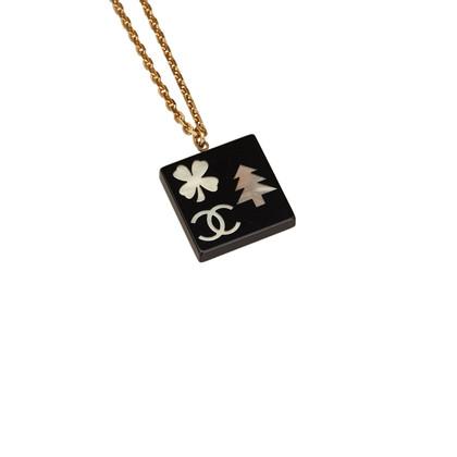 Chanel Charm Anhänger Halskette