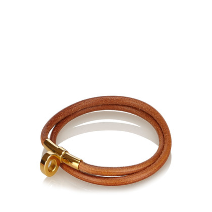 Hermès Leather Choker Necklace