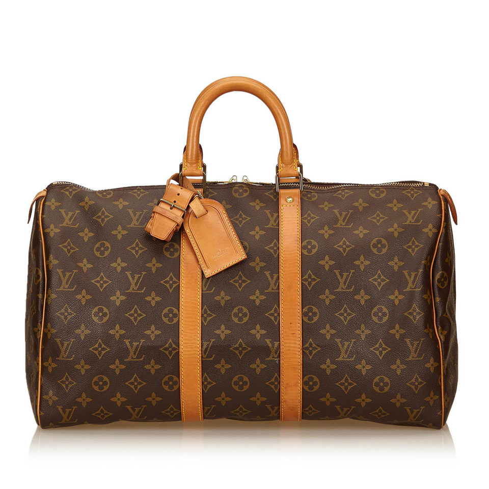 louis vuitton monogram keepall 45 second hand louis vuitton monogram keepall 45 gebraucht. Black Bedroom Furniture Sets. Home Design Ideas