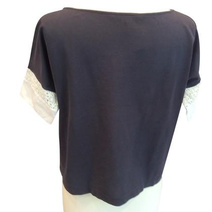Fabiana Filippi Shirt in blue / white