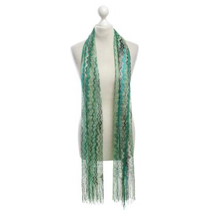 Missoni Lichte sjaal in groen