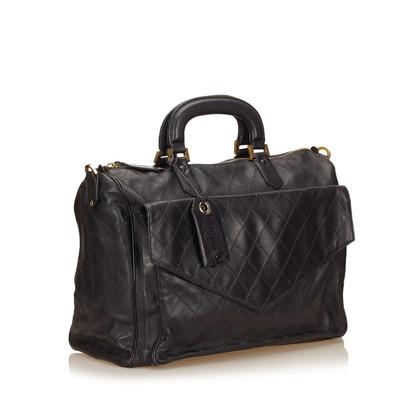Chanel Matelasse Leather Duffel Bag