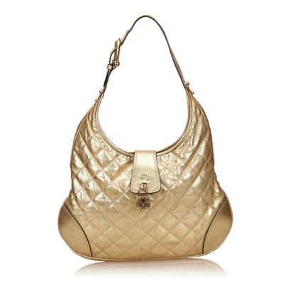 Burberry Cuoio metallico Shoulder bag