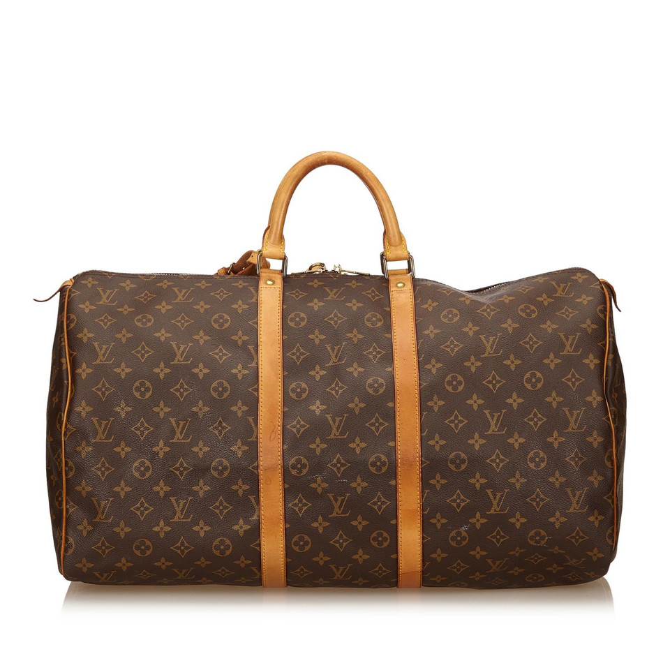 louis vuitton monogram keepall 55 second hand louis vuitton monogram keepall 55 gebraucht. Black Bedroom Furniture Sets. Home Design Ideas