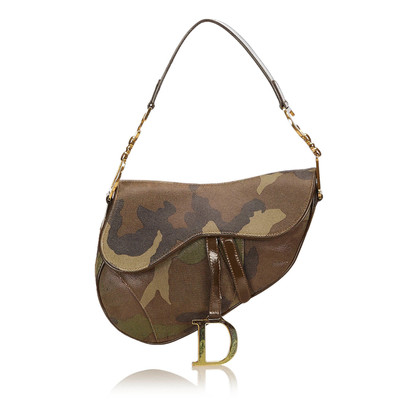 Christian Dior Camouflage Suede Zadel