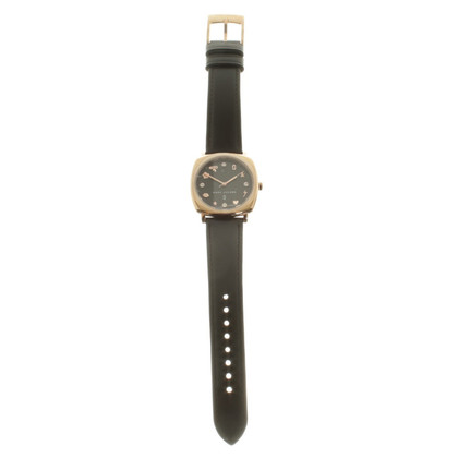 Marc Jacobs Roségoldfarbene Armbanduhr