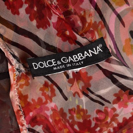 Dolce & Gabbana Kleid Bunt / Muster Perfekt Günstiger Preis Rabatt-Angebote Nicekicks Verkauf Online Verkauf Fälschung Günstig Kaufen Countdown-Paket 0oylk7xHVv