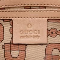 Gucci Calfskin Leather Duffel Bag
