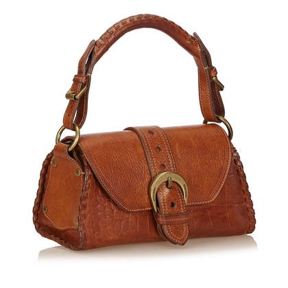 Mulberry Geprägte Lederhandtasche