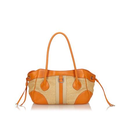 Prada Paglia Tote Bag