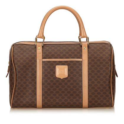 Céline Macadam PVC Duffel Bag