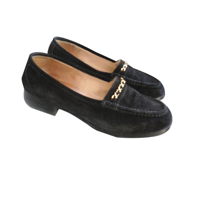 Chanel Wildleder-Loafer
