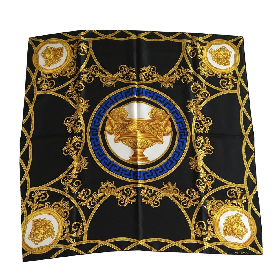 versace silk scarf buy second versace silk scarf