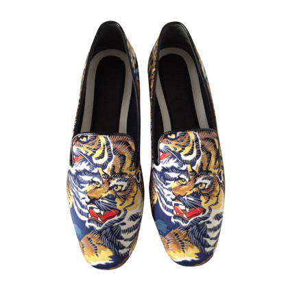 Kenzo Loafer with Tiger Print