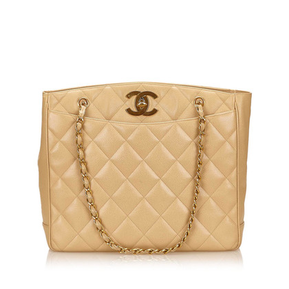 Chanel Caviar Leather Tote Bag