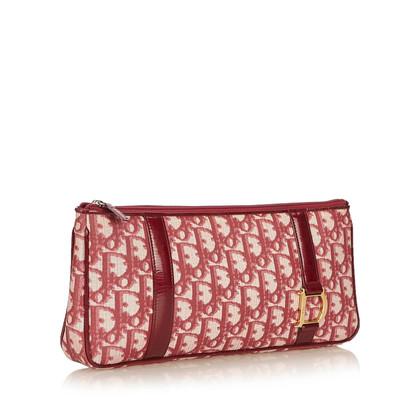 Christian Dior Diorissimo PVC Clutch Bag