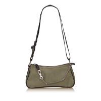 Christian Dior Canvas Shoulder Bag