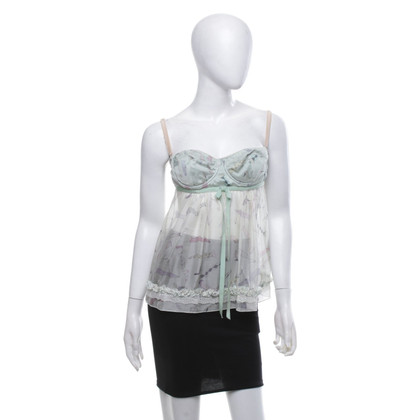 Dolce & Gabbana Babydoll-top in Mint