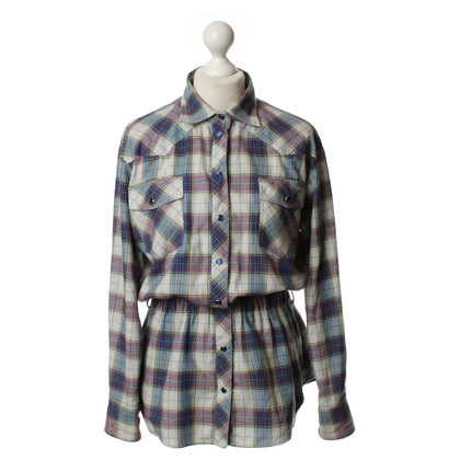 Paul & Joe Waisted flannel blouse