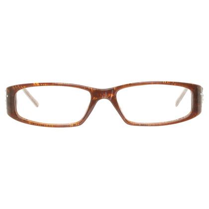 Versace Narrow glasses in brown