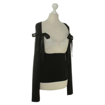 Valentino top in black