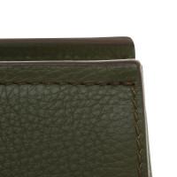 Windsor Handbag in dark green
