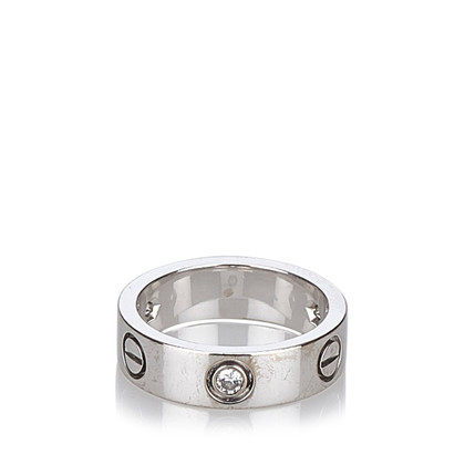Cartier Drie Diamanten Love Ring