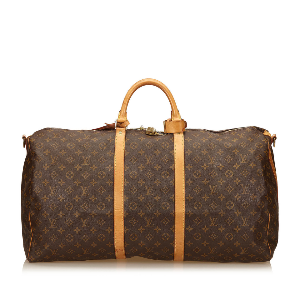 louis vuitton monogram keepall bandouliere 60 second hand louis vuitton monogram keepall. Black Bedroom Furniture Sets. Home Design Ideas