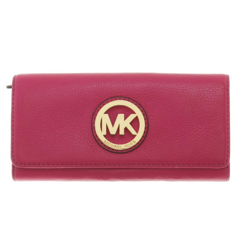 michael kors portemonnaie in pink second hand michael kors portemonnaie in pink gebraucht. Black Bedroom Furniture Sets. Home Design Ideas