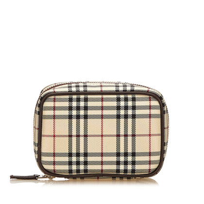 Burberry Pochette en nylon Plaid