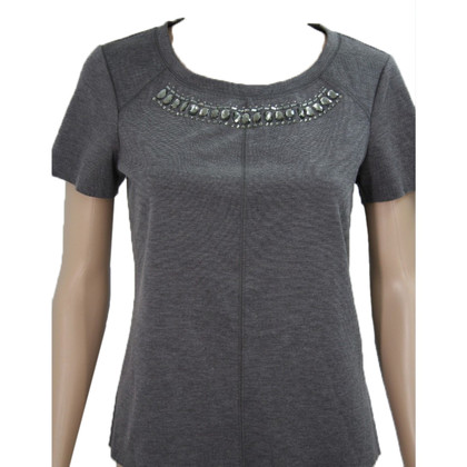 Vera Wang top in grey
