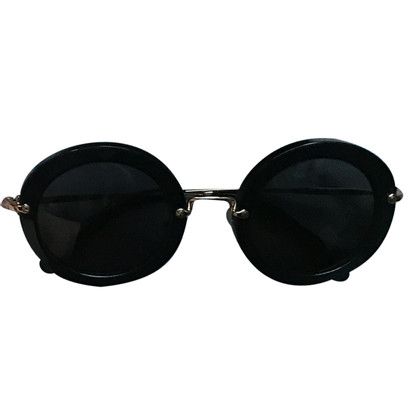 Miu Miu lunettes de soleil rondes