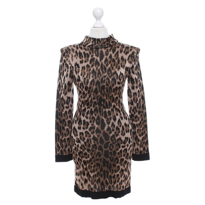 Balmain Dress with leopard pattern