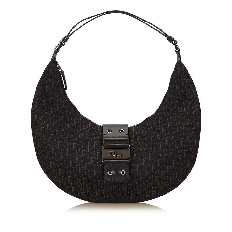Christian Dior Jacquard Diorissimo Handbag