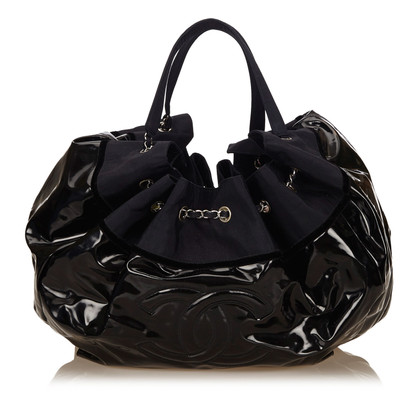 Chanel Vinyl Stretch Spirit Cabas Tote Bag