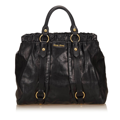 Miu Miu Vitello Lux Shopper