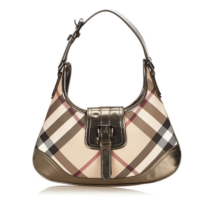 Burberry Plaid PVC Shoulder bag