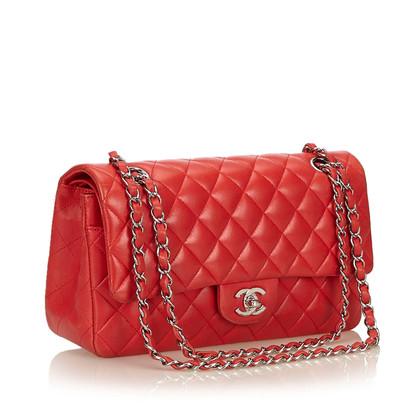 Chanel Medium Classic lamsleer Dubbele flap