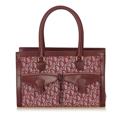 Christian Dior Diorissimo Jacquard Tote