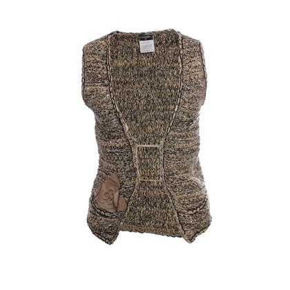 Chanel licht bruin bouclé vest