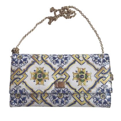 Dolce & Gabbana clutch pelle