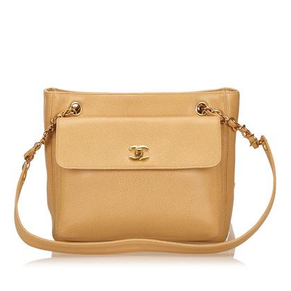 Chanel Caviar Leather Shoulder Bag