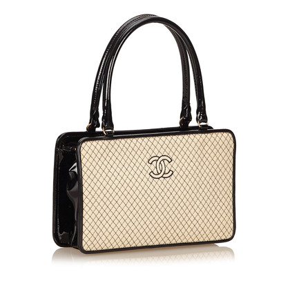 Chanel Quilted Cotton Handbag