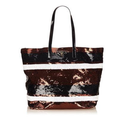 Prada Sequined Tote Bag