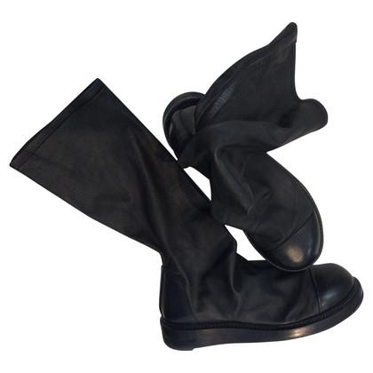 Rick Owens Boots in zwart