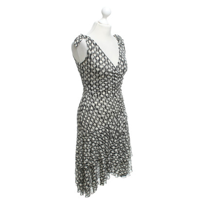 Diane von Furstenberg Seidenkleid mit Muster